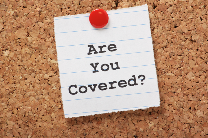 successful smartphone insurance claim are you covered on board as a vector image